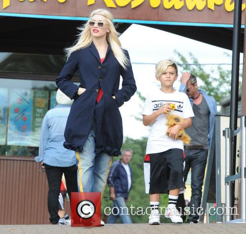 Gwen Stefani and Kingston Rossdal 2