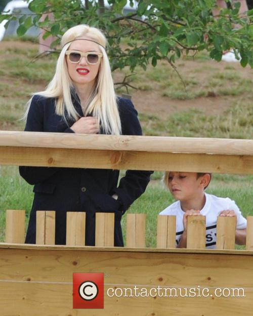 Gwen Stefani and Kingston Rossdal 3