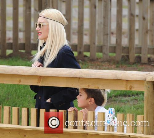 Gwen Stefani and Kingston Rossdal 6