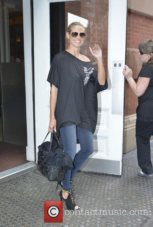 Heidi Klum seen out and about in Manhattan