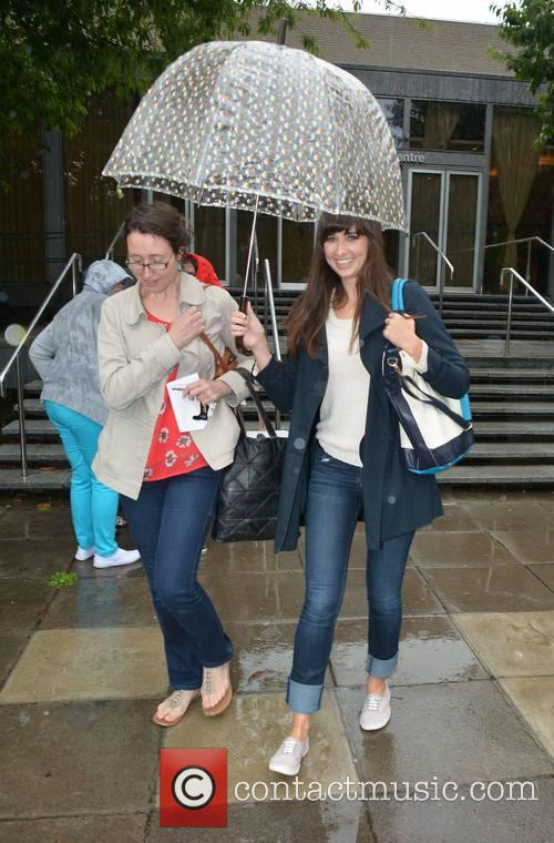 Celebrities spotted outside RTE Radio Centre