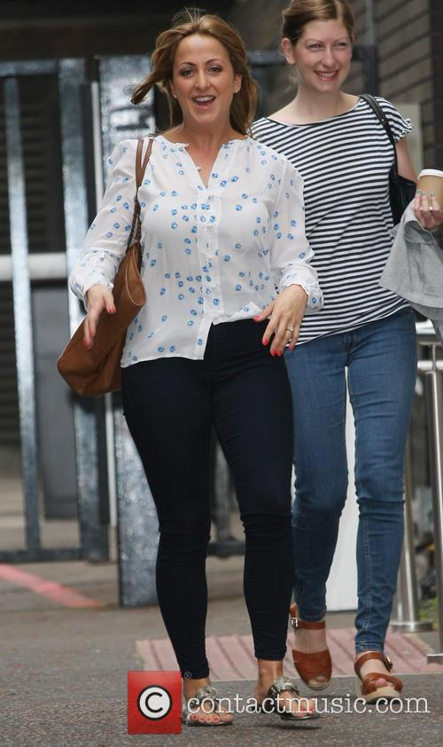 natalie cassidy celebrities outside the itv studios 3790303