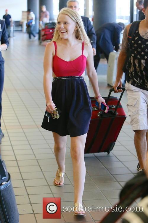 Hollie Cavanagh LAX Airport