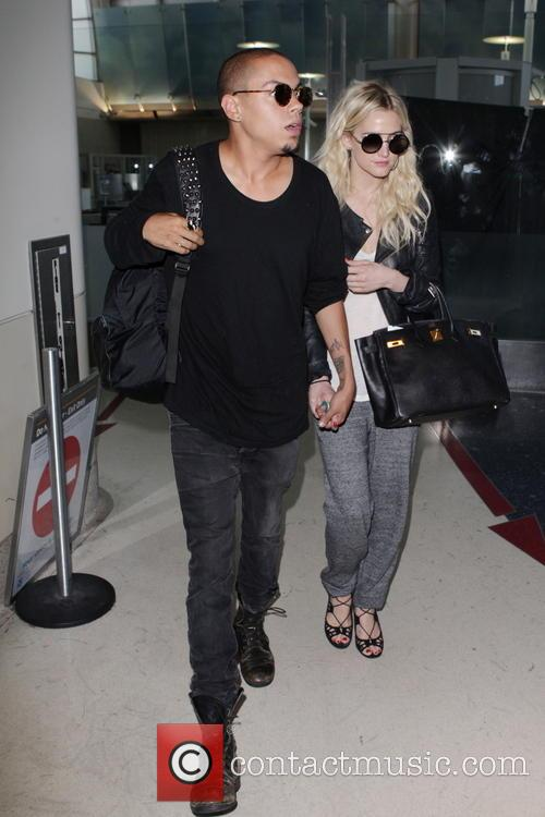 Evan Ross and Ashley Simpson 2