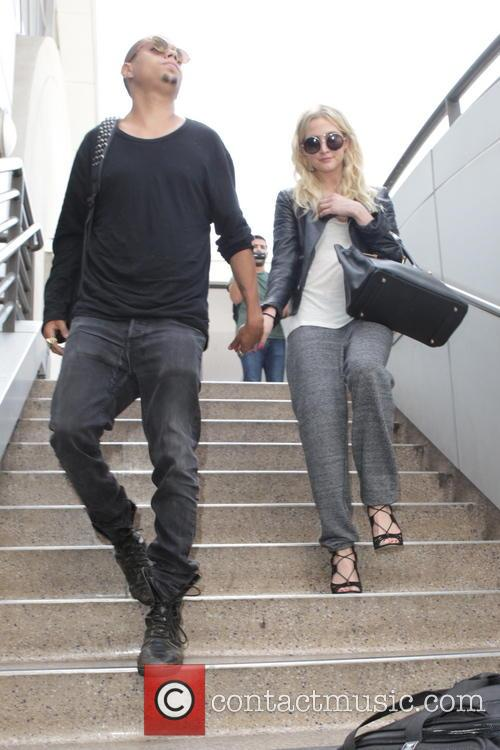 Evan Ross and Ashley Simpson 5
