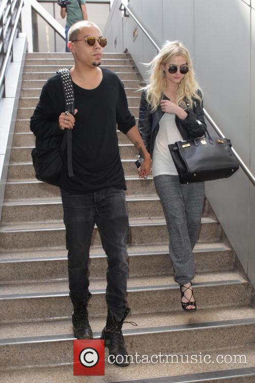 Evan Ross and Ashley Simpson 7