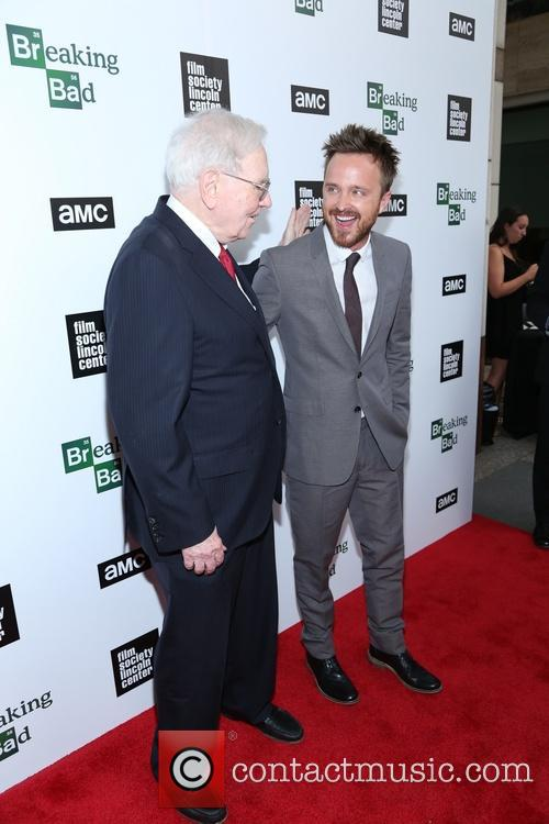 Aaron Paul and Warren Buffett 1