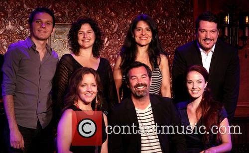 Anat Cohen, Maucha Adnet, Paulo Szot, Alice Ripley, Duncan Sheik and Sierra Boggess 3