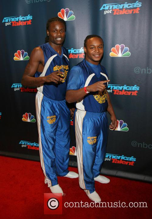 America's Got Talent and Chicago Boyz Acrobatic Team 2