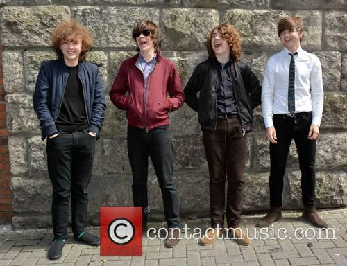 The Strypes, Ross Farrelly, Pete O'hanlon, Josh Mcclorey and Blur 5