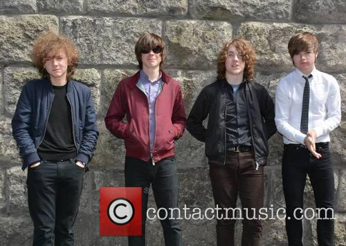 The Strypes, Ross Farrelly, Pete O'hanlon, Josh Mcclorey and Blur 1