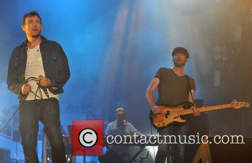 Damon Albarn, Alex James and Blur 9