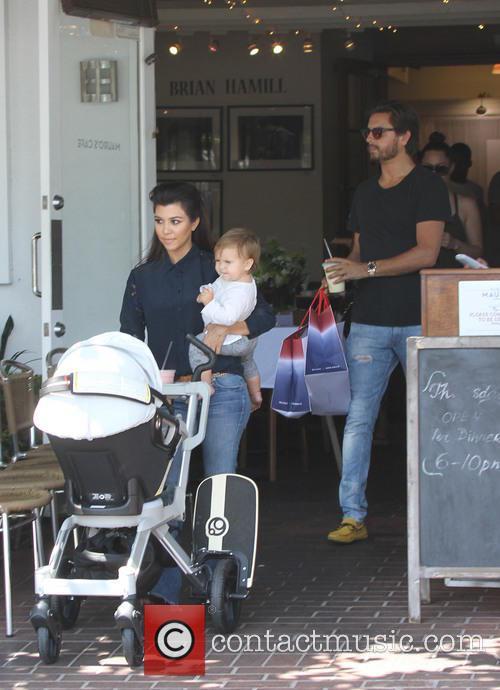 Scott Disick, Kourtney Kardashian and Penelope Disick 1