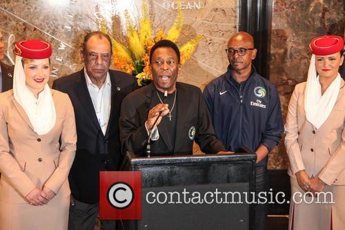 Pele, Edson Arantes Do Nascimento and Marcos Senna 2