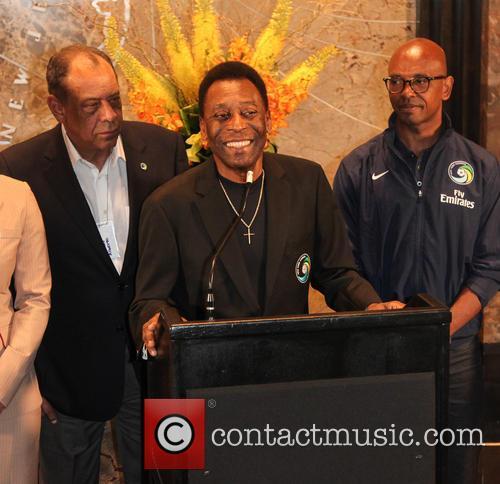 Pele, Edson Arantes Do Nascimento and Marcos Senna 3