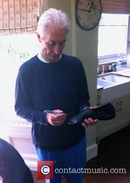 Charlie Watts and Shoes 4