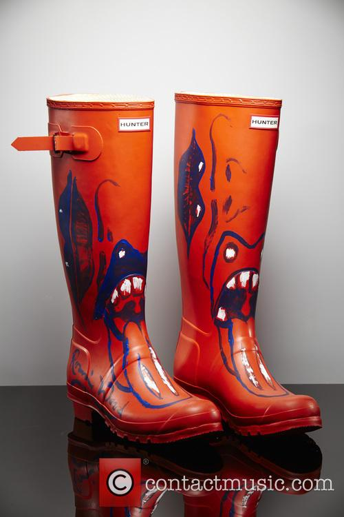 Ronnie Wood, Orange Wellies and Wellington Boots 5