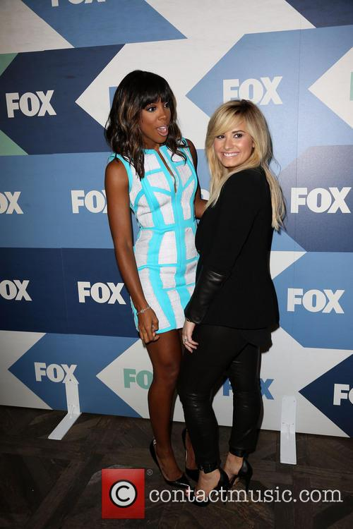 Kelly Rowland and Demi Lovato 3