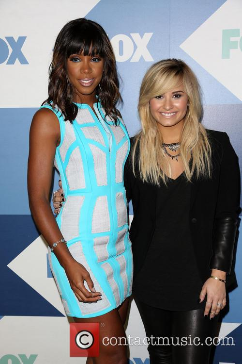 Kelly Rowland and Demi Lovato 4