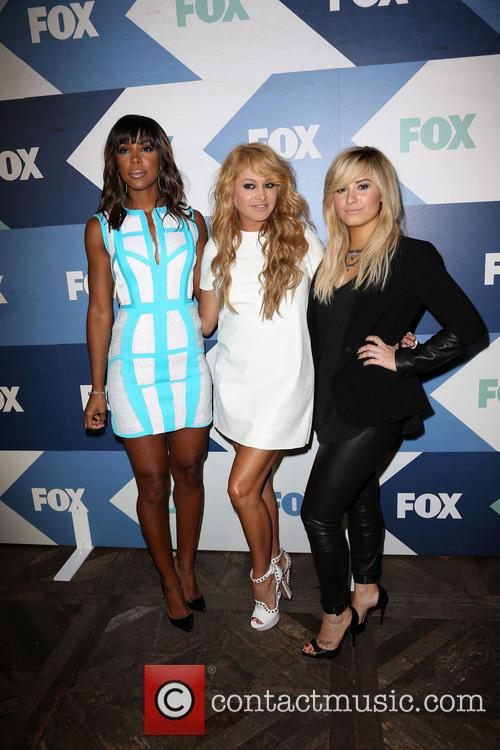 Kelly Rowland, Paulina Rubio and Demi Lovato 2