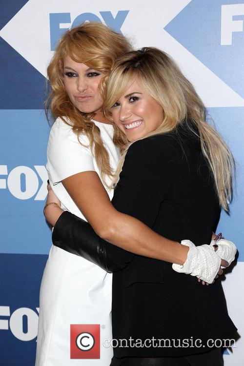 Paulina Rubio and Demi Lovato 3