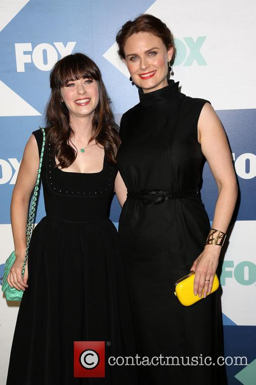Zooey Deschanel and Emily Deschanel 2