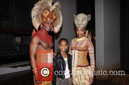 Andile Gumbi, Quvenzhané Wallis and Chantal Riley 2