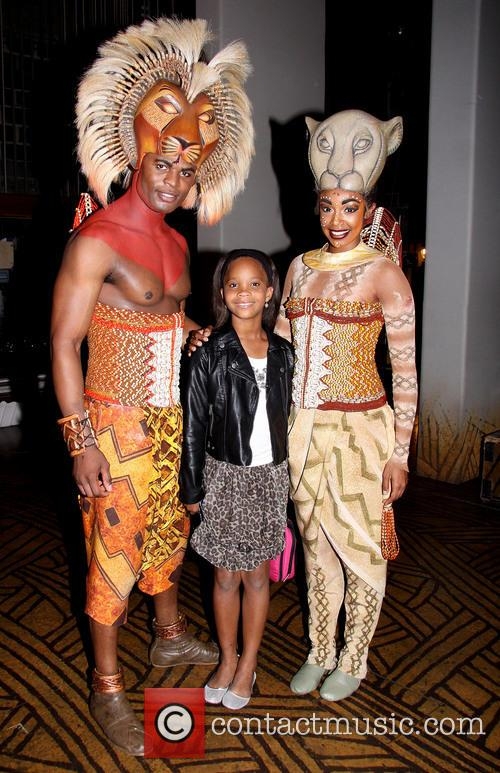 Backstage At The Lion King