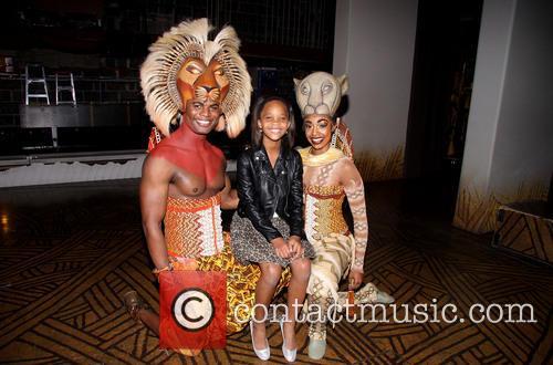 Andile Gumbi, Quvenzhané Wallis and Chantal Riley 3