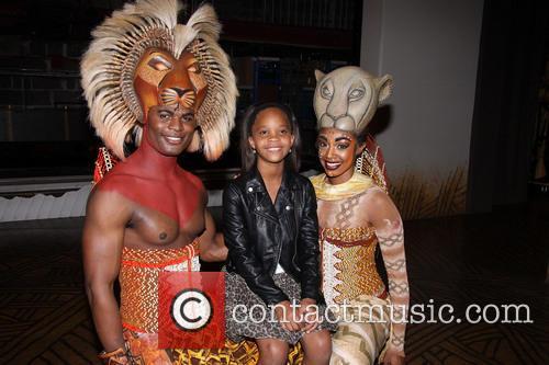 Andile Gumbi, Quvenzhané Wallis and Chantal Riley 4