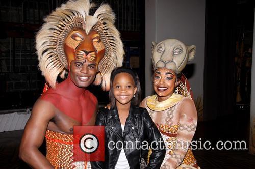 Andile Gumbi, Quvenzhané Wallis and Chantal Riley 5