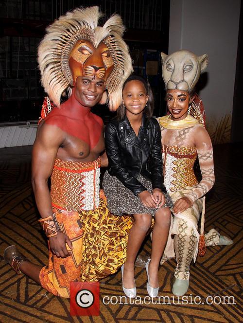 Andile Gumbi, Quvenzhané Wallis and Chantal Riley 6