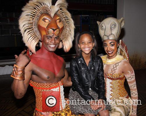 Andile Gumbi, Quvenzhané Wallis and Chantal Riley 7