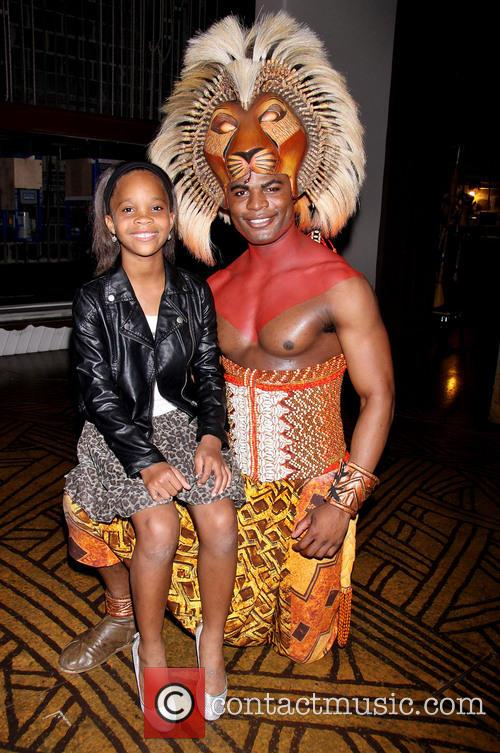 Quvenzhané Wallis and Andile Gumbi 2