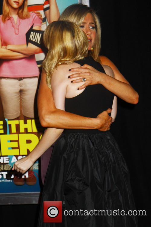 Jennifer Aniston, Emma Roberts, Ziegfeld Theater