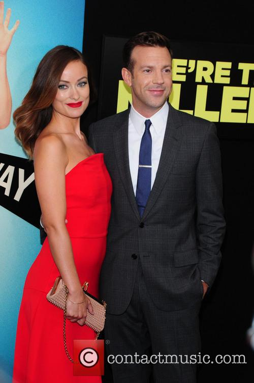 Oliva Wilde and Jason Sudeikis 2