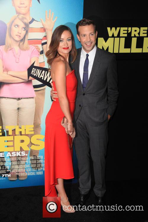 Olivia Wilde and Jason Sudeikis 9
