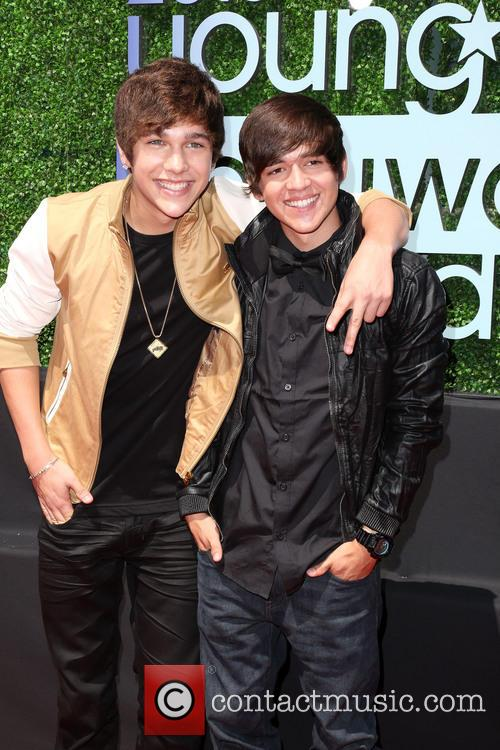 Austin Mahone and Brother 2