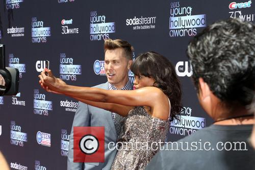 Lance Bass and Aisha Tyler 3