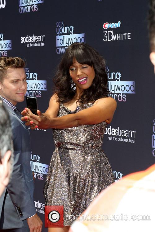 Lance Bass and Aisha Tyler 6
