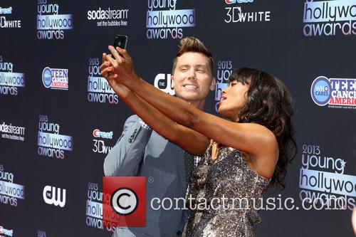 Lance Bass and Aisha Tyler 8
