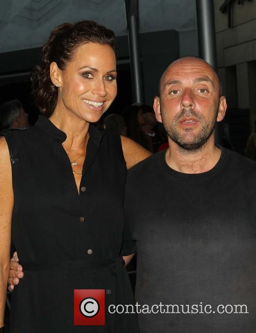 Minnie Driver and Dan Mazer 4