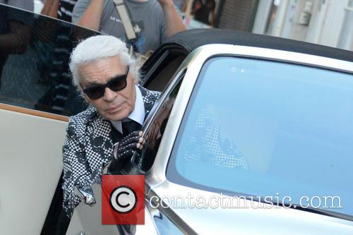 Karl Lagerfeld and Saint Tropez 2