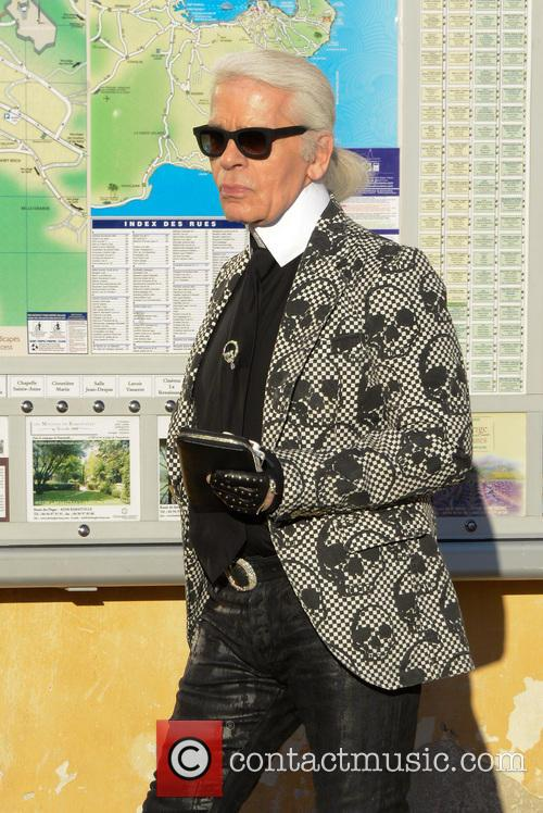 Karl Lagerfeld and Saint Tropez 7