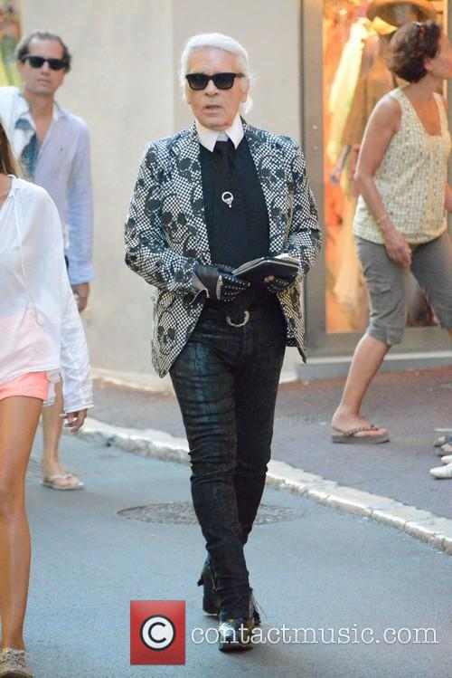 Karl Lagerfeld and Saint Tropez 10