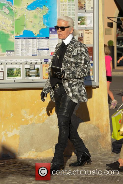 Karl Lagerfeld and Saint Tropez 12