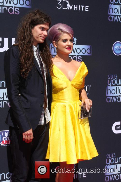 Matthew Mosshart and Kelly Osbourne 2