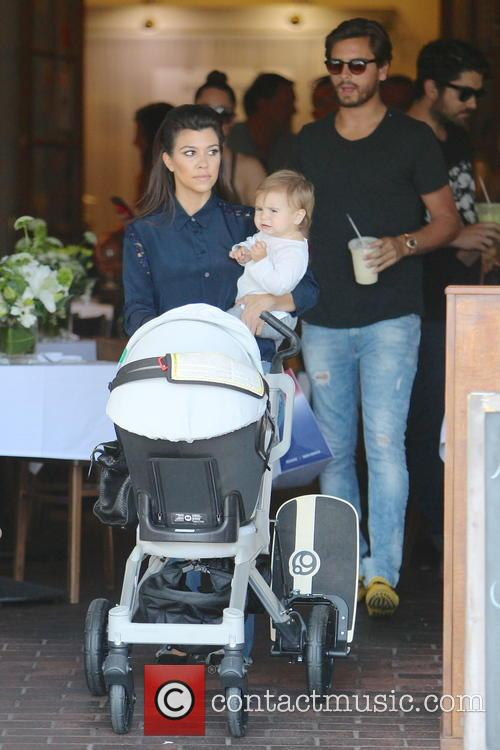 Kourtney Kardashian, Scott Disick and Penelope Disick 6