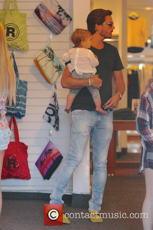 Scott Disick and Penelope Disick 8