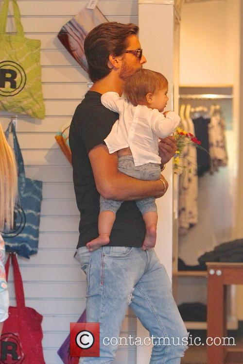 Scott Disick and Penelope Disick 9
